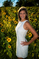 2015-08-02 Allie Senior Pics - Sunflowers